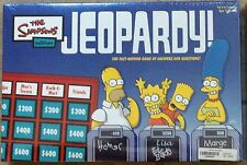 The Simpsons Edition Jeopardy Game by Pressman Toy Corp in 2003 New MISB Sealed