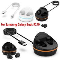 Para Samsung Galaxy Buds R170 Auriculares Cargador Carga Dock Cradle Cable 1 m