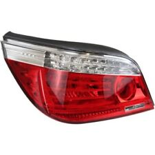 For 528i xDrive 09-10, Driver Side Tail Light, Clear and Red Lens