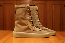 DS Yeezy Season 2 Crepe Boot Size 9 US EUR Luxury Taupe Suede Kanye West 648cf6978