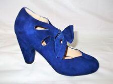 Standard (B) Casual Cuban 100% Leather Upper Heels for Women