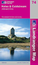 Ordnance Survey, Kelso and Coldstream, Jedburgh and Duns (Landranger Maps), Very