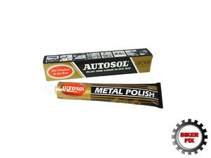 Autosol Solvol Chrome Polish Aluminium Metal Brass Steel Paste 100g Next Day!
