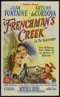 Frenchman's creek Basil Rathbone vintage movie poster print