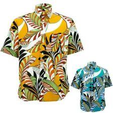 Corte Normal Camisa Manga Loud Originals Floral Abstracto Tropical Estampado