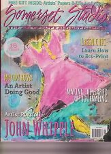 Somerset Studio Magazine July/August 2013, The Art Of Paper And Mixed-Media.