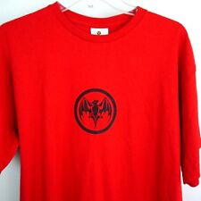 Bacardi Bat Red Short Sleeve Graphic T Shirt Men's MINT Condition - Size Large