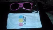 Entièrement neuf sous emballage Swedish House Mafia groupe lunettes de soleil rose