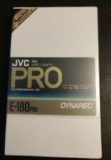 Cassette VHS JVC PRO E-180 PRO