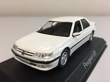 Norev Peugeot 605 1988 Blanche 1/43 476503