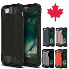 For iPhone 8 7 SE 2020 Case - Shockproof Duty Hybrid Protective Hard Armor Cover