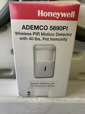 Ademco 5890PI Wireless PIR Motion Detector with 40Lbs. Pet Immunity