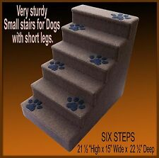 Pet Stairs, 6 Steps, Dog Steps, Pet Stairs, Pet Ladder.