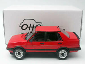 1:18 VW Jetta GTX 16V Model Resin Vehicle Models Toys Limited Edition Car Red