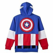 Hoodie Marvel Captain America Zip Up Hoodie Youth size XS 4-6 US Seller FreeShip