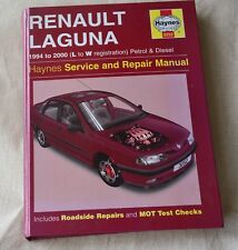 RENAULT LAGUNA 1994-2000 HAYNES WORKSHOP MANUAL 3252 with French Technical CD
