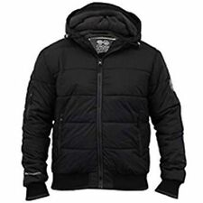 Crosshatch Nylon Hooded Regular Size Coats & Jackets for Men