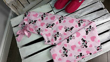 LADIES EX DISNEY PYJAMA BOTTOMS IN PINK COLOUR - GREAT GIFT -  SIZES 8-10, 12-14