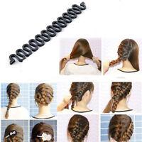 Girl's French hair hook Magic Twist Styling Bun maker braiding tool roller