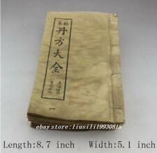 Do the old Chinese Antique Collection handwrite Thread-bound book Medical book