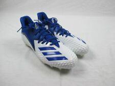 New adidas Freak X Carbon Mid Low - White/Blue Cleats (Men's 14)