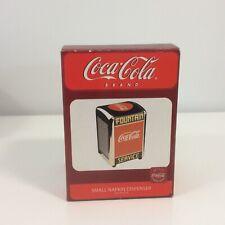 Coca Cola Coke  Small Napkin Dispenser -  New