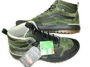 Vans Mens UltraRange Exo Hi MTE Boots 66 Supply Grape Leaf Green Size 8 NEW