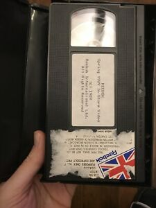Reebok Vintage VHS Rare In Store Video 1989 Historical