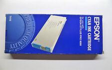 ORIGINALI Epson t410 ciano Stylus PRO 9000 220ml --- OVP 11/2009