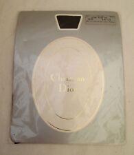 Authentique collant noir CHRISTIAN DIOR vintage taille 3-9 1/2 polyamide et soie