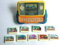 Vtech Mobigo Touch Learning System +10 Games - SpongeBob, Sesame Street, Marvel