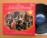 The Music Of Johann Strauss Wolfgang Sawallisch Stereo 2xLP Fontana 6747 051 NM