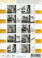 Netherlands 2018 MNH Architecture Construction New Builds 10v M/S Stamps