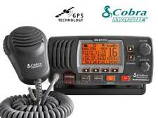 VHF FISSO MARINO COBRA MR F77BLACK EU GPS INCORPORATO MARINE RADIO GPS INCLUDED