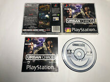 Urban Chaos (PS1) Complete : Tested Playstation 1 Ps1