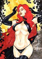 MARVEL Comics GOBLIN QUEEN Original Art X-MEN WOLVERINE DEADPOOL DARK PHOENIX 2