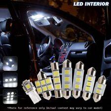 6pcs Xenon White Car LED Interior Lights Package Fit 2002-2007 Subaru Impreza