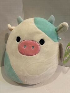 "12"" RARE Kellytoy Squishmallows Belana the cow Soft Doll  plush toy"