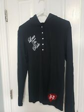 HARLEY DAVIDSON Hoodie Long Sleeve Shirt Pullover Womens Size XL BLING NWOT
