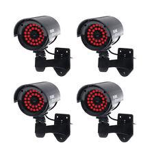 4*Dummy Kamera CCTV IR LED Attrappe Innen Camera Montor Sicherheitskamera