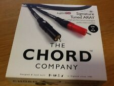 The Chord Company Signature Tuned Aray 5 PIN DIN - 2 RCA -  1m