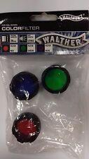 Walther Filtre Couleur Set x 3 pour RBL Série
