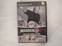 Sony PlayStation 2 Madden NFL 07 Hall Of Fame Edition Video Game Disc 1 only