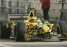 Heinz Harald Frentzen 2000 Jordan EJ 10 F1 driver Grand Prix Signed photo