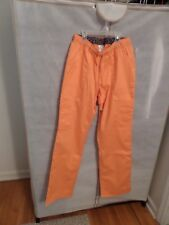 Greys anatomy NEW scrubs scrub cargo pants Orange Crush size XS