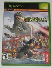 Godzilla: Save the Earth (Microsoft Xbox, 2004) NTSC (Scratched Disc) Rare