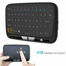 Mini Wireless Keyboard Mouse Touchpad and Combo Whole Panel Large Touch Surface