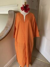 Tuttabankem L UK 16-18 Cotton Kaftan With Pockets New With Tags