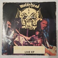 "Motorhead-The golden years live ep - 1980 7"" P/S Ex. Cond Vinyle"