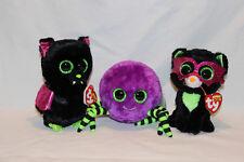 Ty Halloween Beanie Boo's - Crawley, Igor, Jinxy - all new with tags